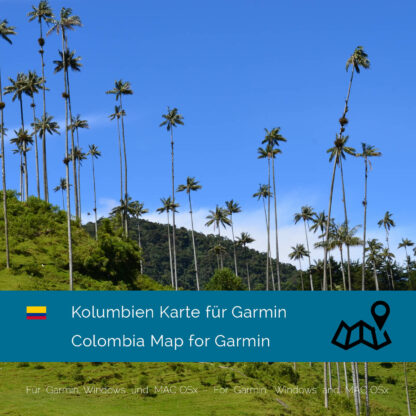 Colombia - Download GPS Map for Garmin