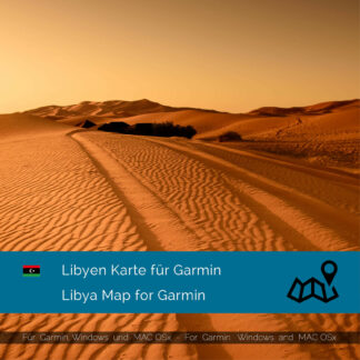 Libya - Download GPS Map for Garmin PC & MAC