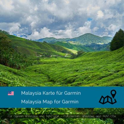 Malaysia - Download GPS Map for Garmin PC & MAC