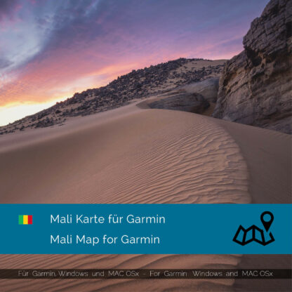 Mali - Download GPS Map for Garmin PC & MAC