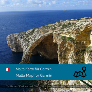 Malta - Download GPS Map for Garmin PC and Mac