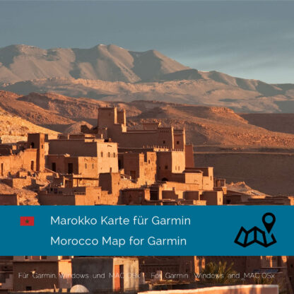 Morocco Garmin Map Download