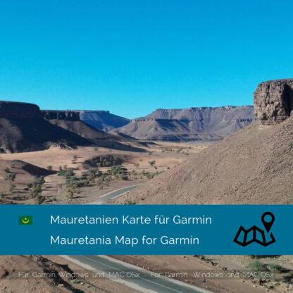 Mauritania - Download GPS Map for Garmin