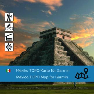 Mexico - Download GPS Map for Garmin PC & MAC