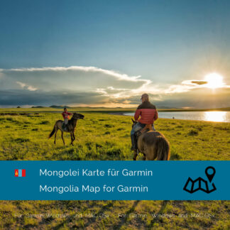 Mongolia Map Garmin Download