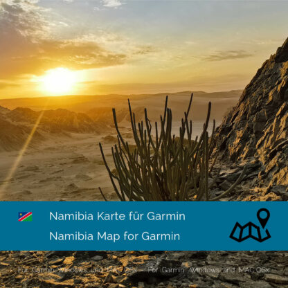 Namibia Garmin Map Download