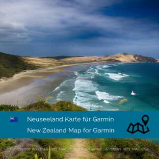 New Zealand Garmin Map Download