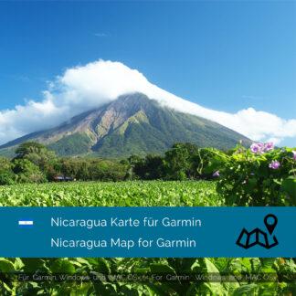 Nicaragua Garmin Map Download