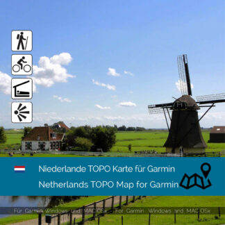 Netherlands TOPO Garmin map Download