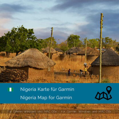 Nigeria Garmin Map Download