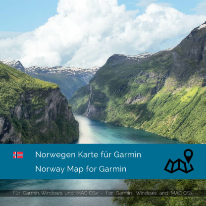 Norway - Download GPS Map for Garmin PC and Mac