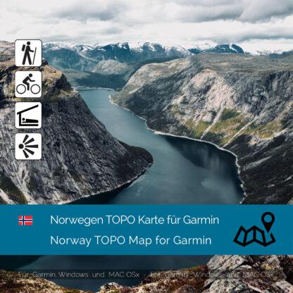 Norway TOPO Garmin map Download