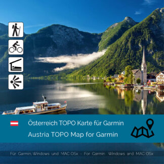 Austria TOPO Garmin map Download