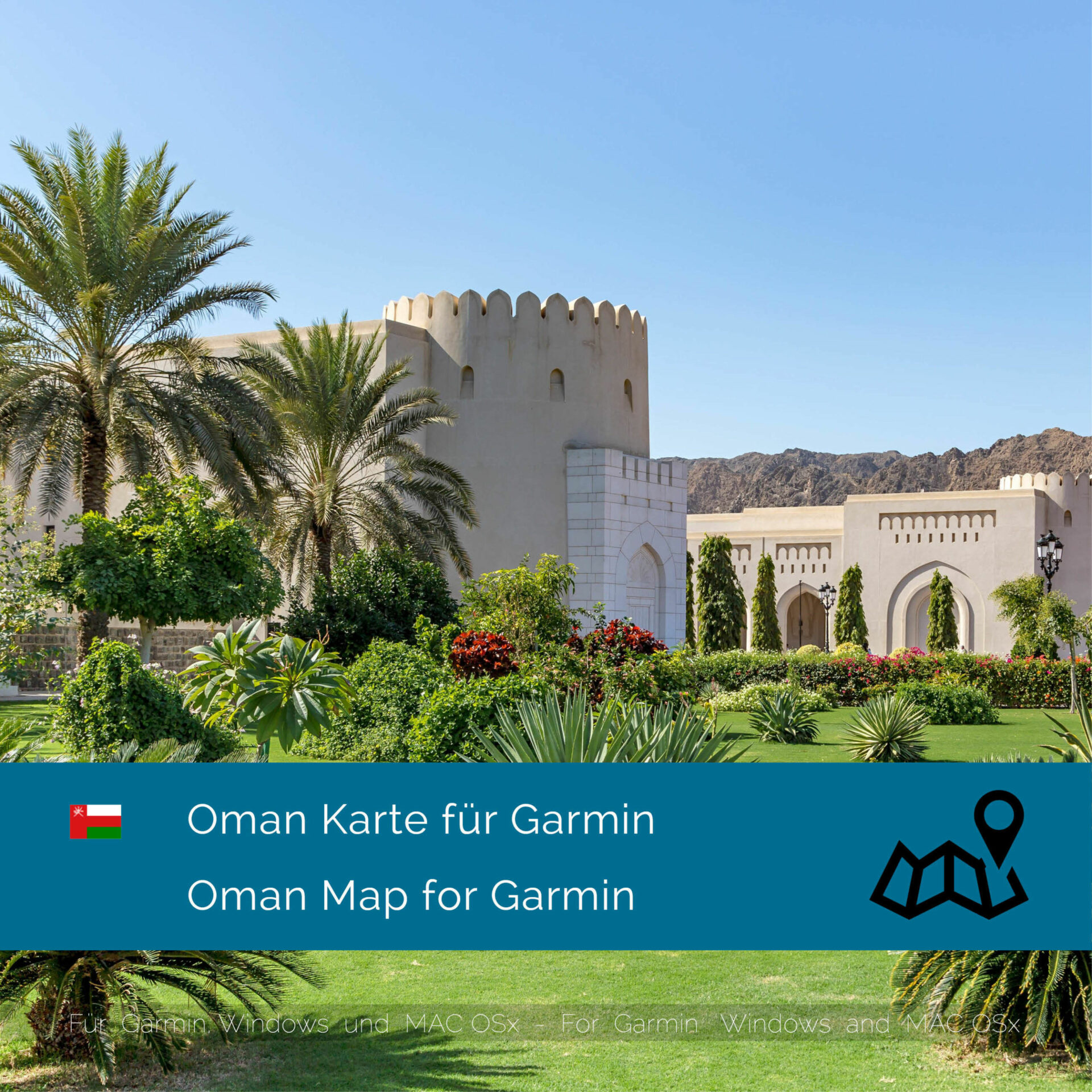 Oman Download Gps Map For Garmin Garmin Worldmaps