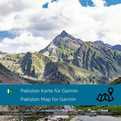 Pakistan - Download GPS Map for Garmin PC and Mac