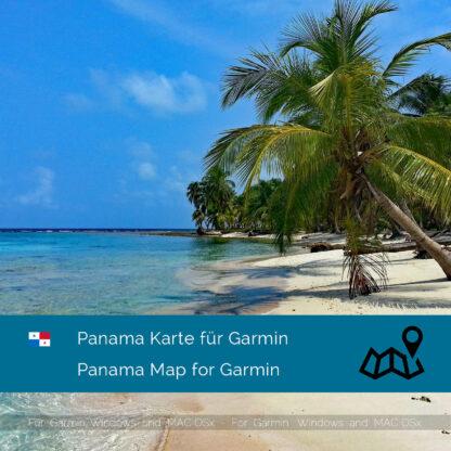 Panama Garmin Map Download