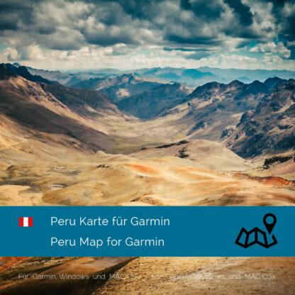 Peru - Download GPS Map for Garmin PC & Mac