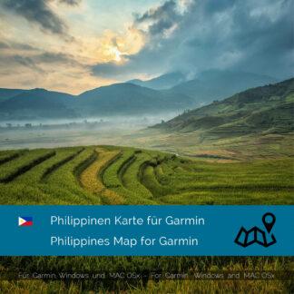 Philippines Garmin map Download