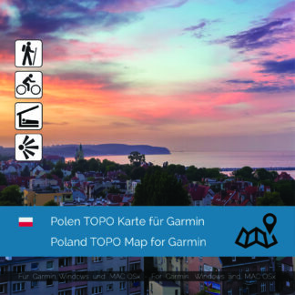 Poland - Download GPS Map for Garmin PC & MAC | Garmin WorldMaps