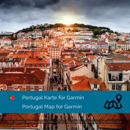 Portugal Garmin Map Download