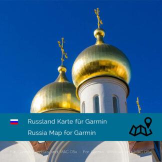 Russia Garmin Map Download