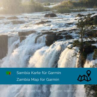 Zambia Garmin Map Download