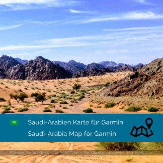 Saudi Arabia Garmin Map Download