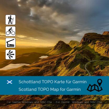 Scotland Garmin Map Download