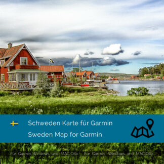 Schweden - Download GPS Map for Garmin PC and Mac