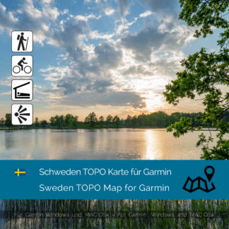 Sweden TOPO Garmin map Download