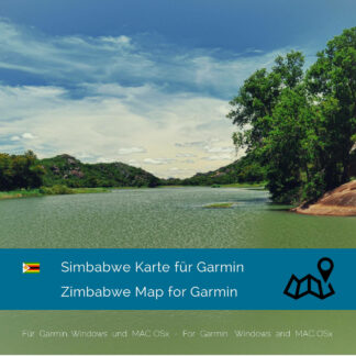 Zimbabwe - Download GPS Map for Garmin PC & MAC