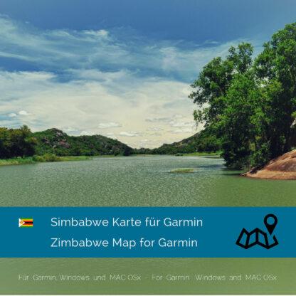 Zimbabwe - Download GPS Map for Garmin PC & MAC