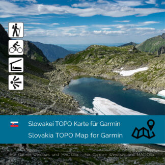 Slovakia TOPO Garmin map Download