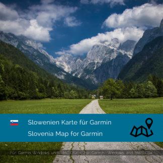 Slovenia Garmin Map Download