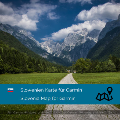 Slovenia Garmin Map Download