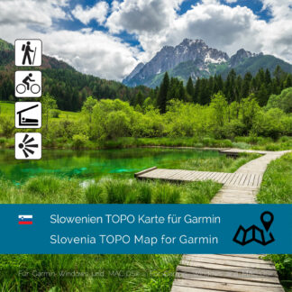 Slovenia TOPO Garmin map Download