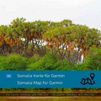 Somalia - Download GPS Map for Garmin PC & MAC