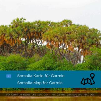 Somalia - Download GPS Map for Garmin PC & MAC
