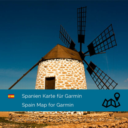 Spain Garmin Map Download