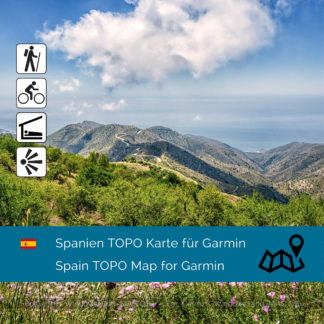 Topographic Map Spain Garmin Download