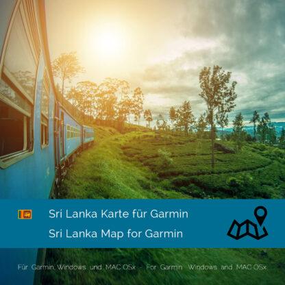 Sri Lanka Garmin Map Download