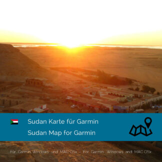 Sudan Garmin Map Download