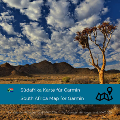 South Africa Garmin map Download