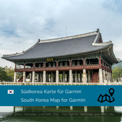 South Korea Garmin Map Download