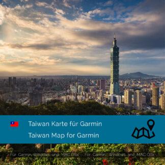 Taiwan - Download GPS Map for Garmin PC & MAC