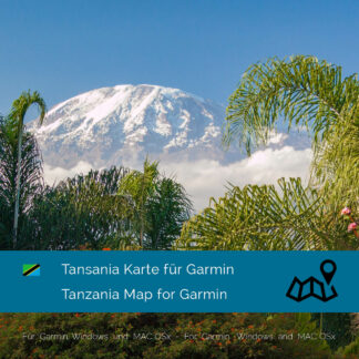 Tanzania Garmin Map Download