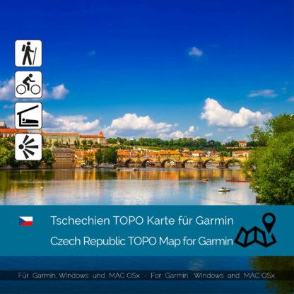 Czech Republic TOPO Garmin map Download