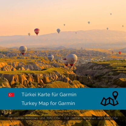 Turkey - Download GPS Map for Garmin PC & MAC