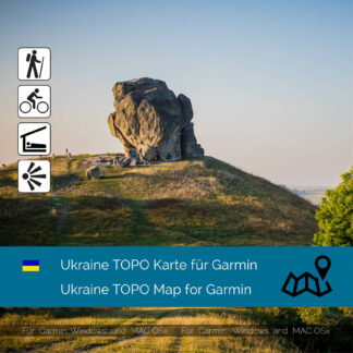 Ukraine TOPO Garmin map Download
