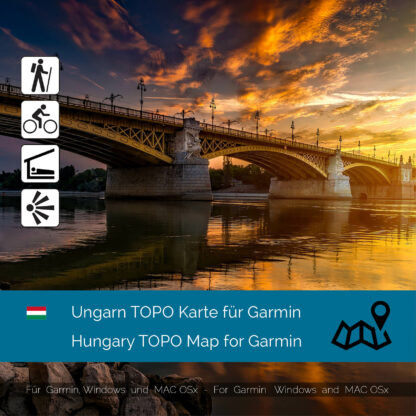 Hungary TOPO Garmin map Download